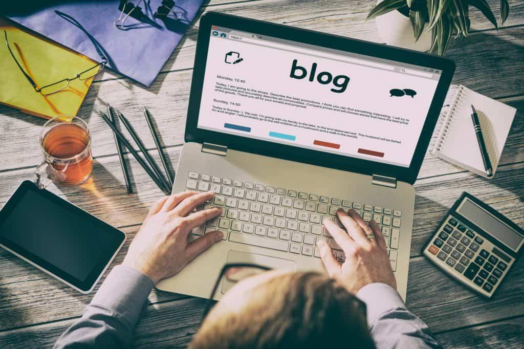 Pomoc w pisaniu Blog